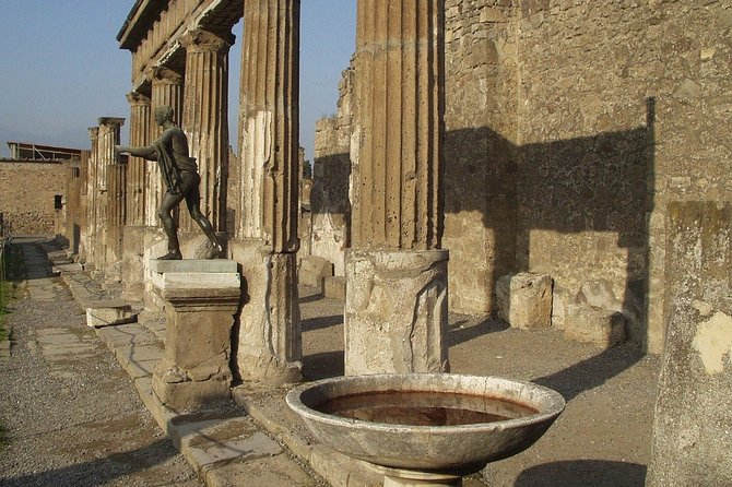 Full Day Tour of Naples and Pompeii from Rome by Train