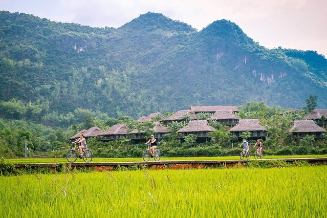 Biking and Walking Day Tour to Mai Chau from Hanoi with Pickup