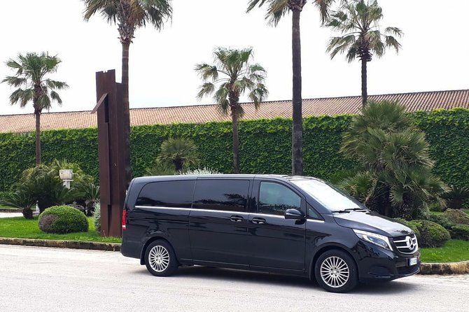 Private transfer from Palermo airport to the Astoria Palace Hotel or vice versa