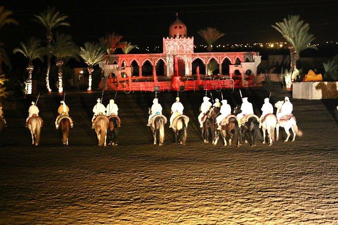 Dinner show in Marrakech