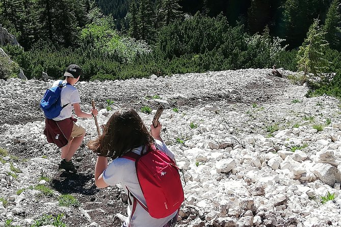 Piatra Craiului National Park - over the ridge