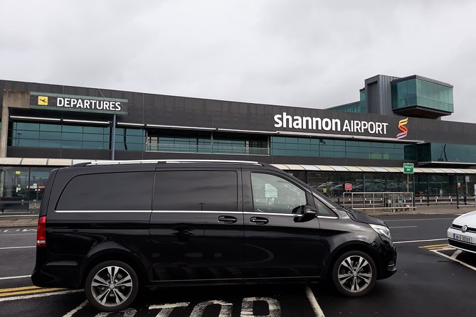 Shannon Airport To Galway City Chauffeur Driven Transfer Mercedes V-Class