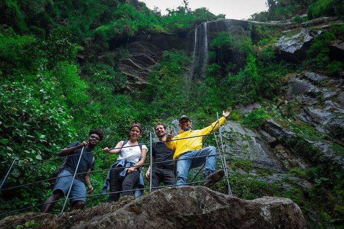 Excursão de caminhada na cachoeira La Chorrera de Choachí