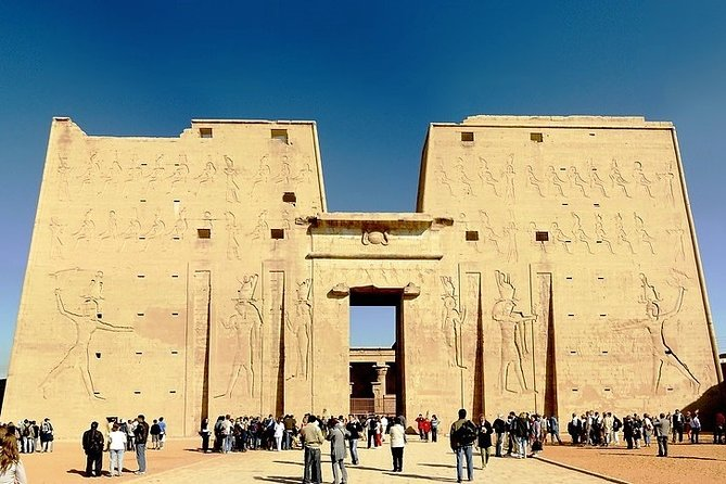 Private Day trip to Edfu and Kom Ombo with lunch from Luxor