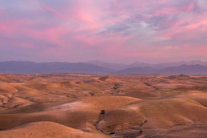Marrakech excursion agafay desert