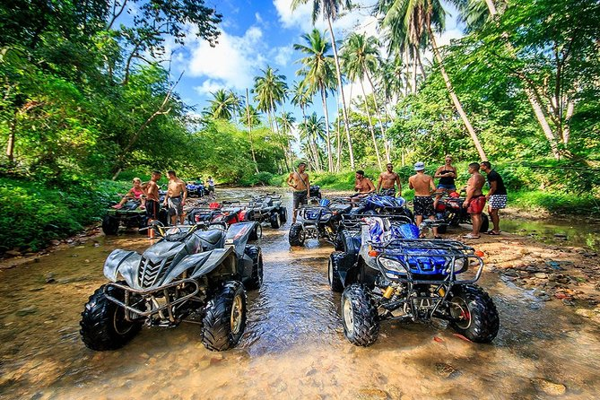 Ko Samui Off Road Adventure Tour with All Terrain Vehicle