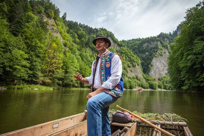 Dunajec river rafting regular tour from Cracow