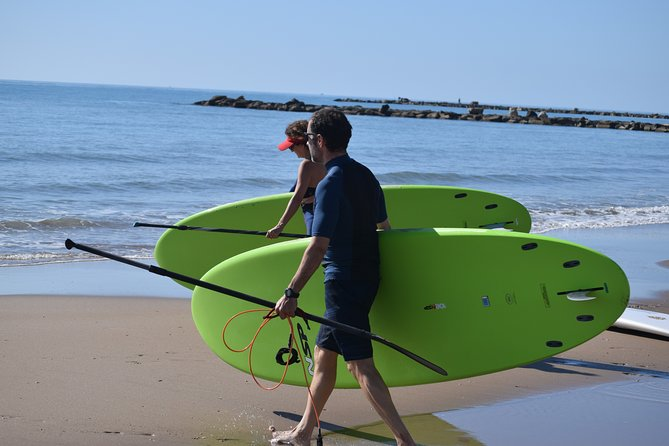 Initiation or journey in Stand Up Paddel (SUP) in El Campello (Alicante)