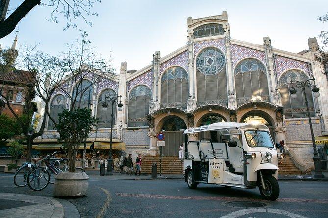 Arts and Marina Private Half-Day Tuk Tuk Tour of Valencia (4 Pers)