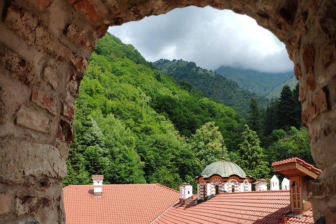 Tour privato autoguidato nel monastero di Rila