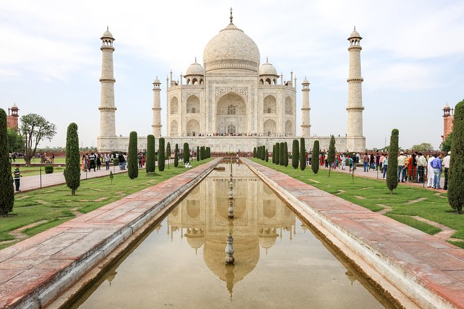 From Jaipur: Same Day Agra Taj Mahal Tour