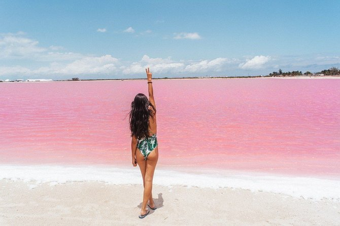 MIND-BLOWING PARADISE: Las Coloradas Pink Lake and Rio Lagartos Tour with Lunch.