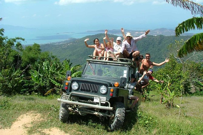 Full-Day Koh Samui Jungle Mountain Adventure Tour with Lunch