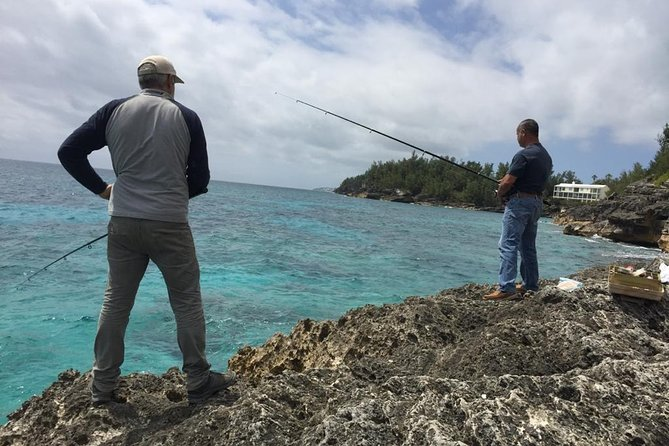 The Bermuda Fishing Off The Rocks Excursion