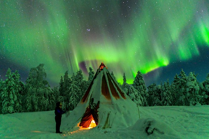 Auroras Northern Lights by Car and on Foot (photographing tour)