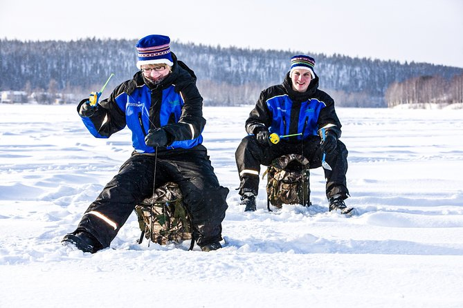 Ice Fishing Trip in Rovaniemi