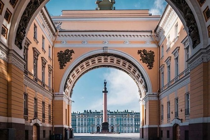 Guided One day tour in Saint-Petersburg: Hermitage & Peterhof by Hydrofoil