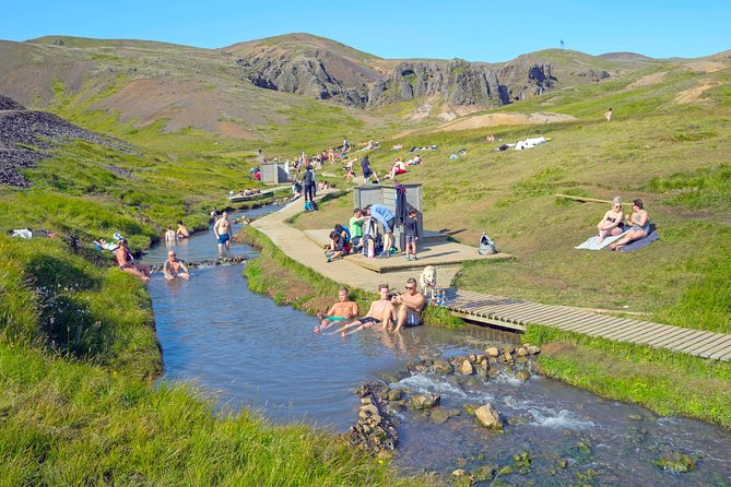Hiking in Reykjadalur Valley - Hot River | Small Group