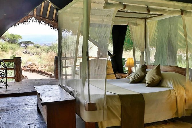 Overnight Amboseli National Park Safari