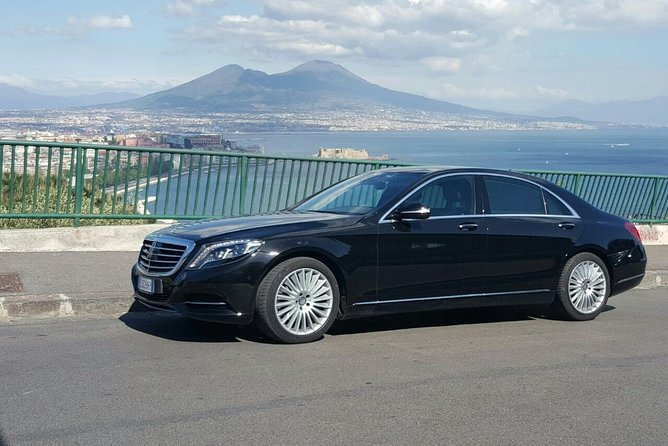 Private driver from Rome to Sorrento by Luxury Mercedes wifi on board