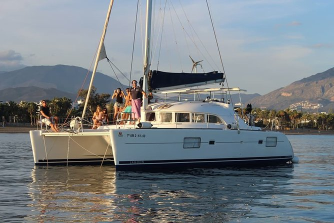 Marbella. 3-hour catamaran trip in a small group with dolphin watching