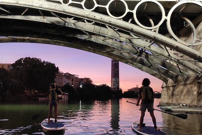 Seville: Sunset in Paddle Surf