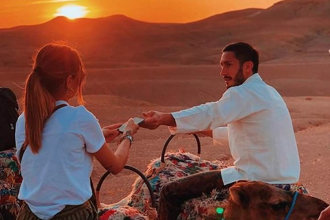 Desert Agafay Sunset & Camle Ride