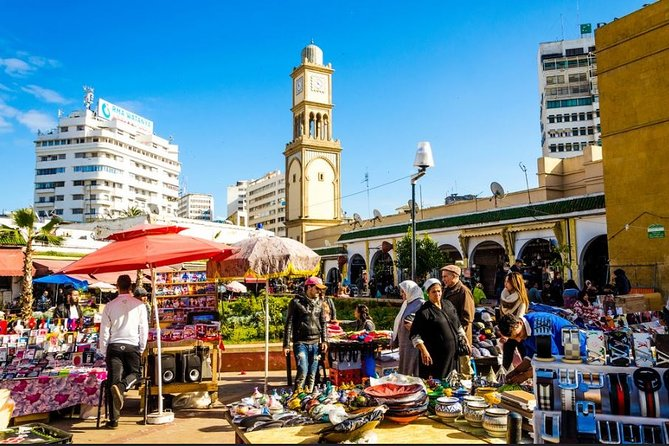 En dagstur til Casablanca og Rabat fra Marrakech