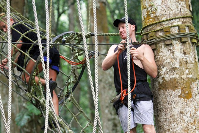 Bali Treetop Adventure with Private Round Trip Transfer