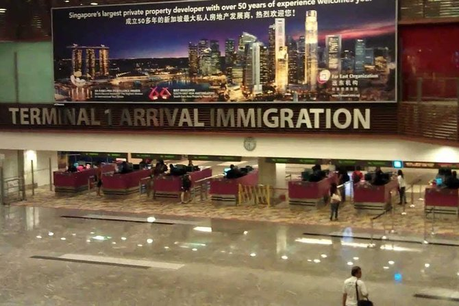 Singapore Airport: Shared Arrival or Departure Car Transfer