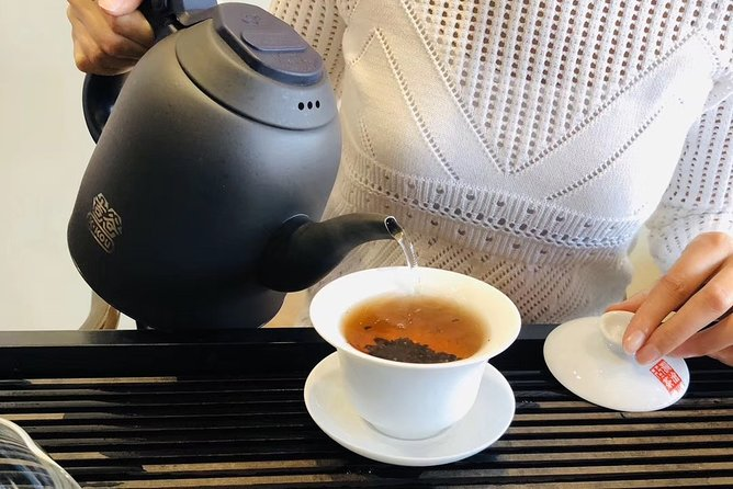 Private Tea Ceremony and Tea Market Half Day Tour in Guangzhou