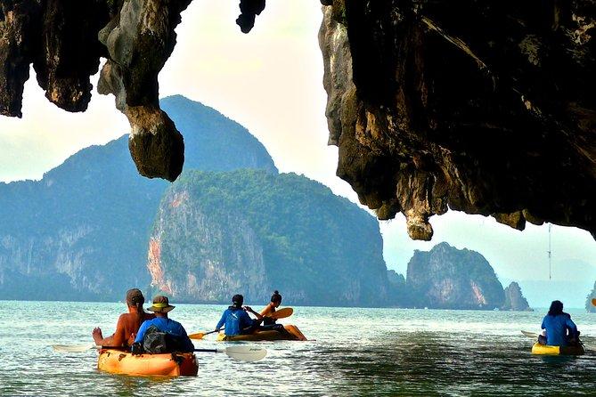 Phuket: Full-Day Canoeing Tour by John Gray's Cave in Phang Nga Bay