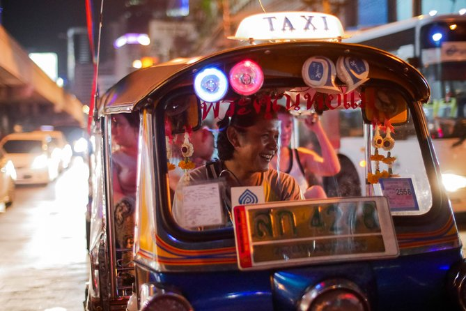Half-Day Guided Food Tour of Bangkok by Tuk Tuk with Meals