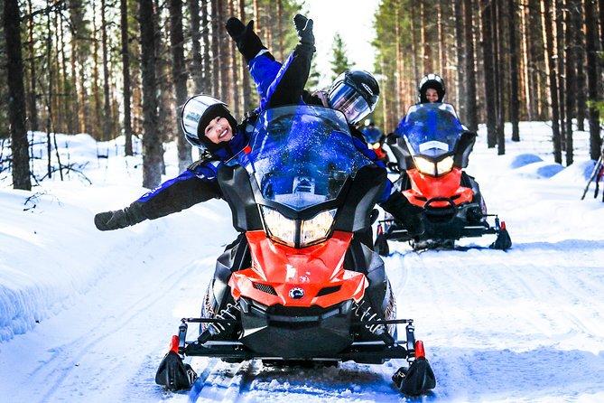 Snowmobile Safari in the Nature