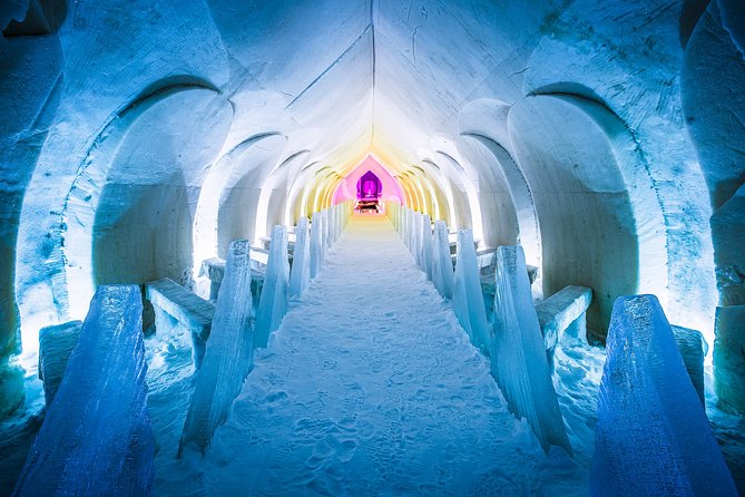 Visite de l'Arctic Snow Hotel