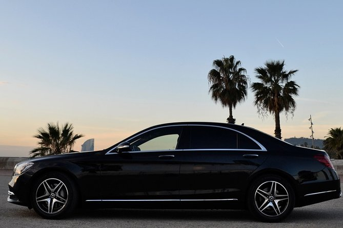 Exclusive Barcelona Airport Private Transfer Mercedes S-Class