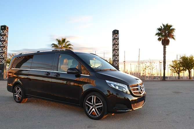 Exclusive Barcelona Airport Private Transfer Mercedes V-Class ( Luxury Van )