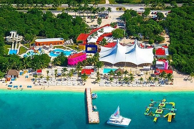Cozumel Shore Excursion: Snorkel reefs, Playa Mia beach & water park with buffet