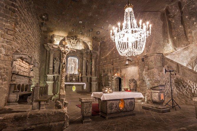 Wieliczka Salt Mine Tour with Skip-the-Line Ticket from Krakow