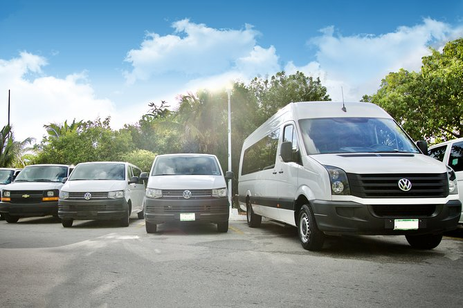 Private transfer Airport- Playa del Carmen area from 1 to 7 pax