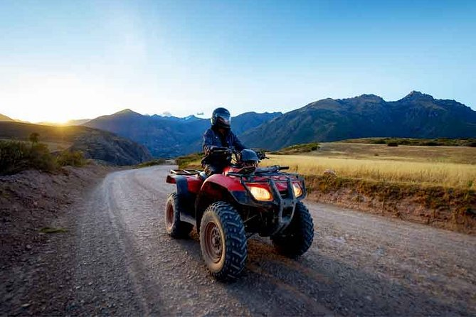 ATVs in the Salinas de Maras and Moray - ATVs in Cusco