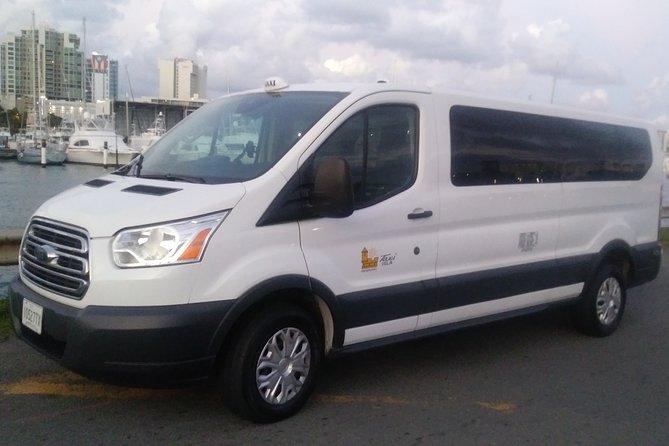 Airport Transfers: SJU to Hotels in Isla Verde/Condado/Old San Juan Puerto Rico