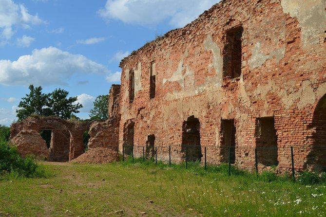 Ruins of Krevo and Holshany castles