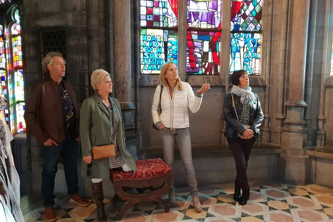 3 hours guided walk in Bruges or Ghent from € 90.00 for a group of up to 15 people.