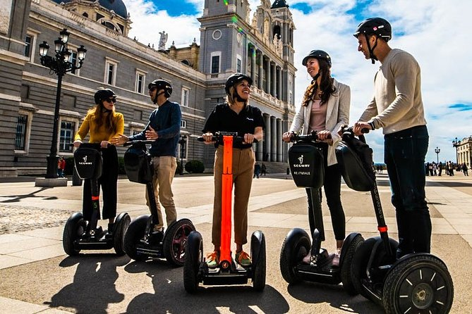 Small-Group Segway Tour Highlights of Madrid