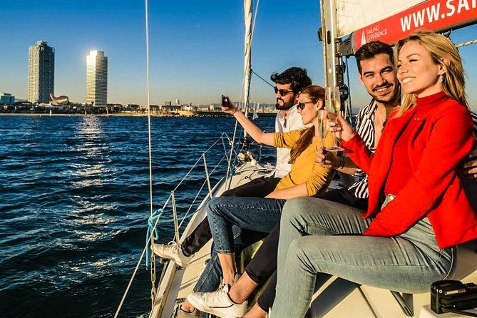 Half-Day Sailing Trip in Barcelona with Wine Tour