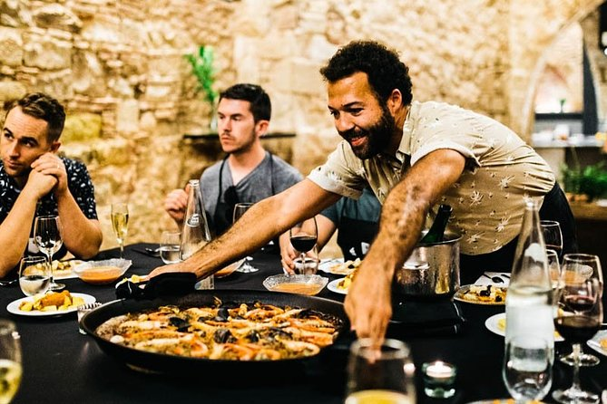Half-Day Tour of Barcelona Markets with Paella Cooking Class