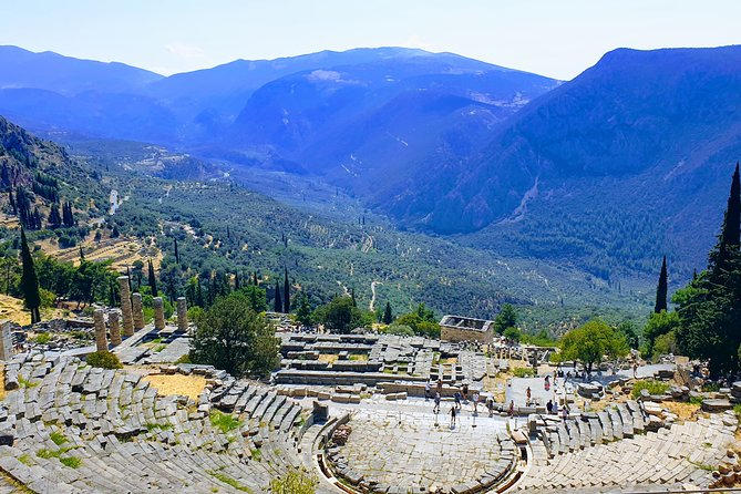 Delphi Self-Guided 50-Minutes Virtual Tour from your Home