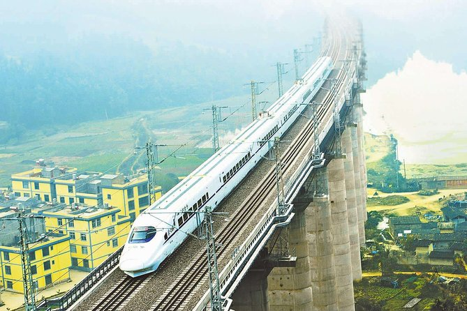 Nanjing to Shanghai Bullet Train Ticket with Train Station Transfer
