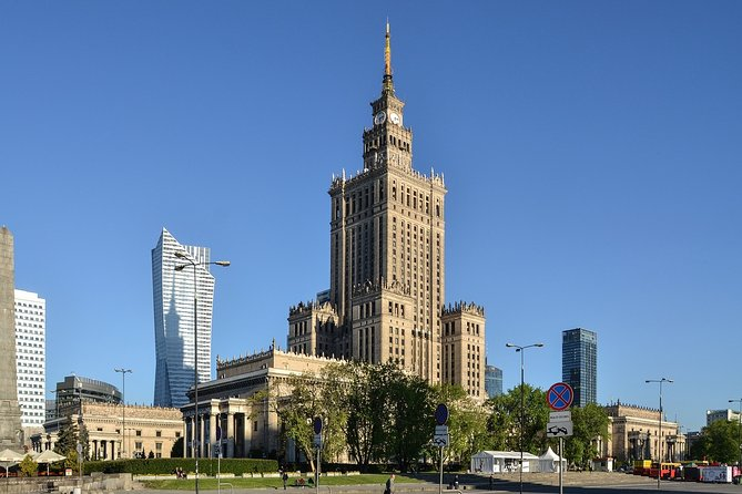 Private Tour to Warsaw with Transport and Guide from Gdansk